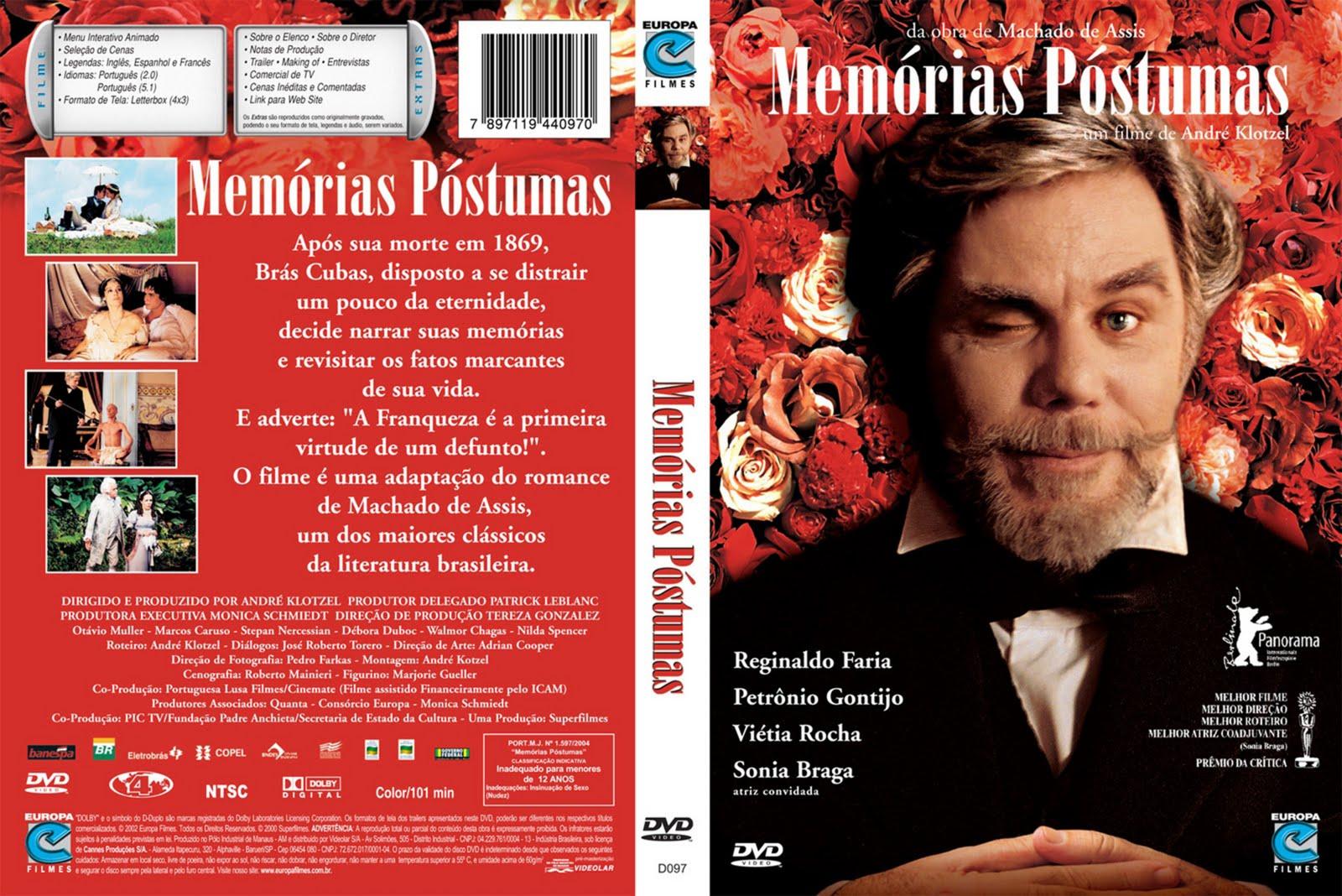 Filme é baseado no romance realista de Machado de Assis