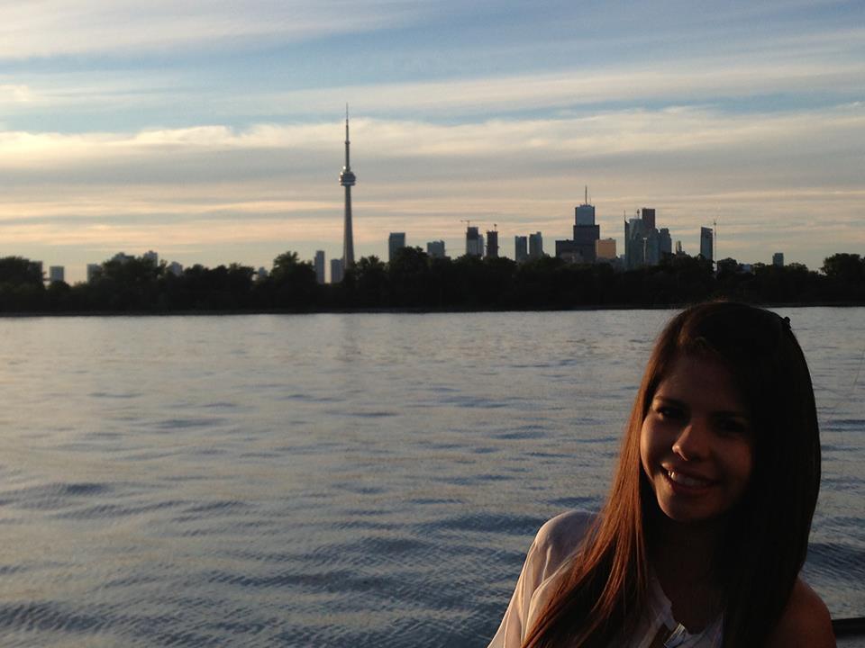 Flávia Nunes em Toronto