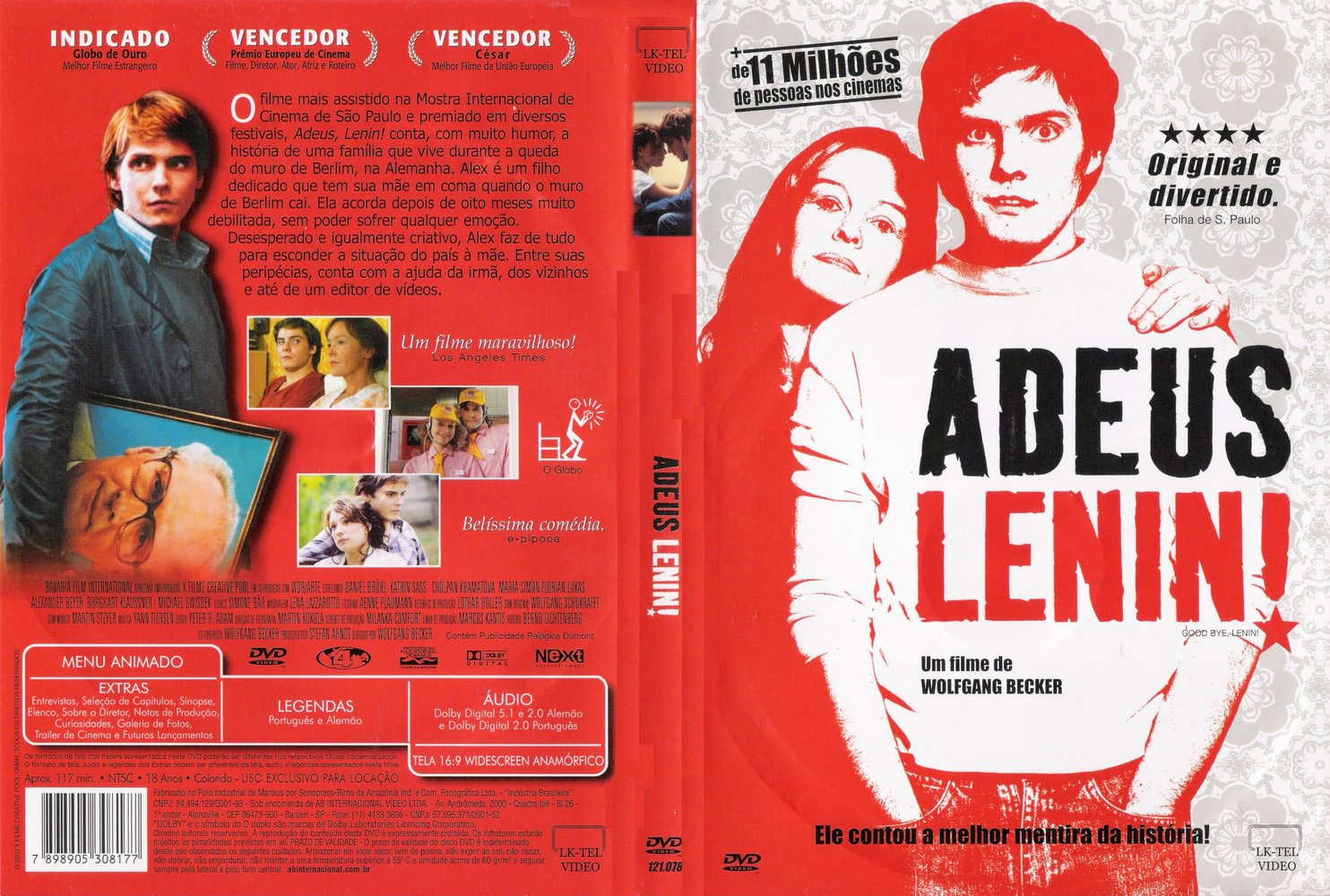 filme Adeus, Lenin fala sobre a queda do muro de Berlim