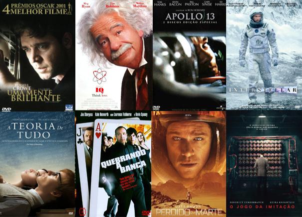 8 filmes com muita física, cálculo, engenharia e números
