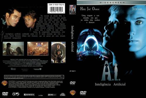"""Para quem gosta de filmes filosóficos assista """"Inteligência Artificial"""""""