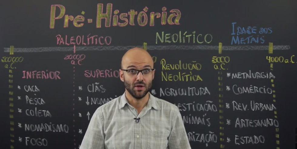 """O termo """"pré-história"""" tem hífen? Ou é pré história?"""