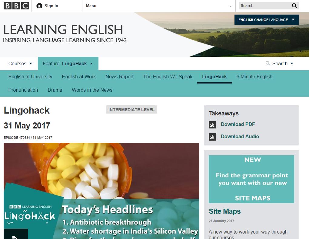 4 sites para melhorar o seu inglês - Stoodi