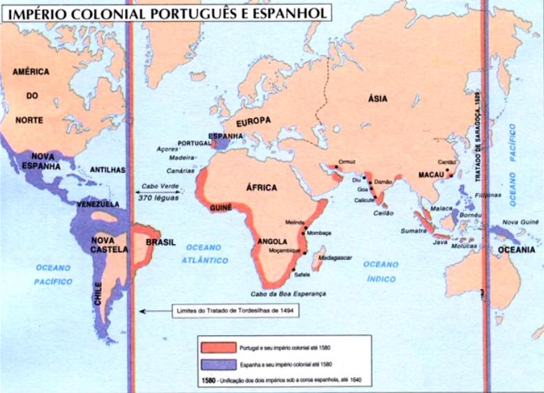 Os tratados das Grandes Navegações
