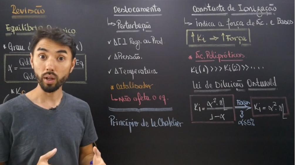 Equilíbrio químico: o que é, exercícios e revisão para o Enem!
