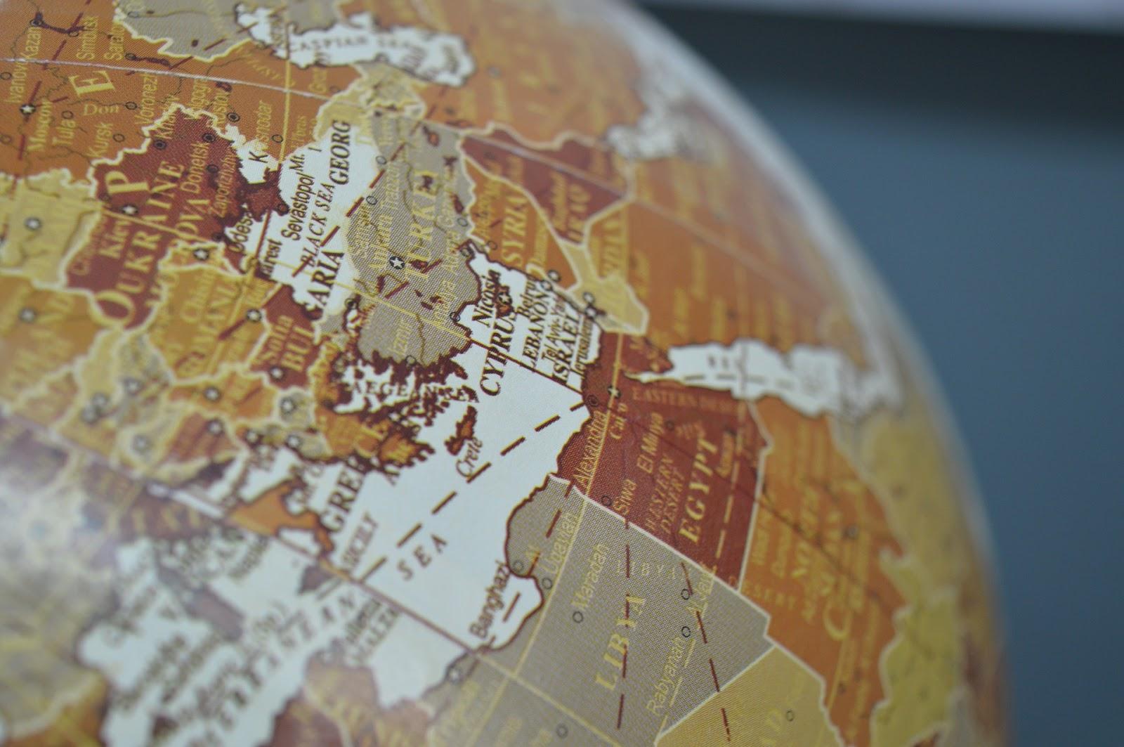 Mapa mundi Síria