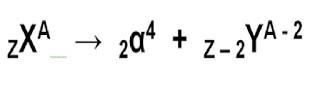 Formula da radioatividade: 1ª lei