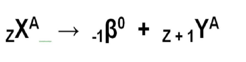 Formula da radioatividade: 2ª lei