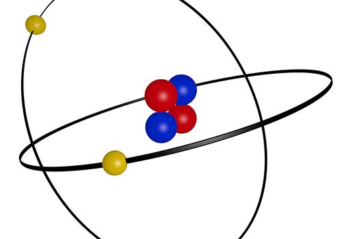 característica do átomo atomística